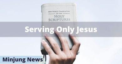 Jung Myung Seok serves only Jesus