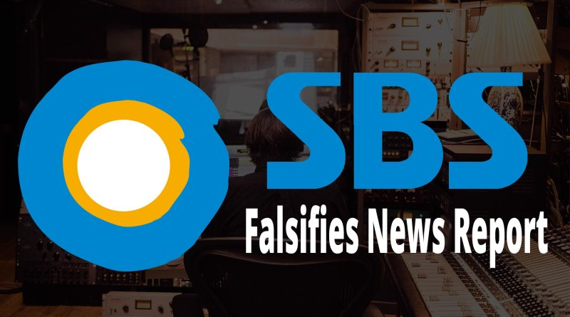 SBS falsifies news report about Jung Myung Seok