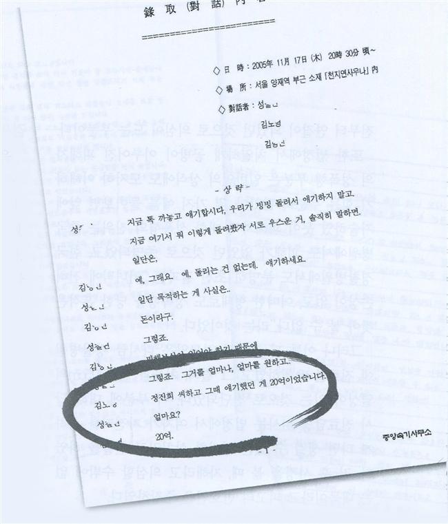 Kim demands 2 billion won from Christian Gospel Mission