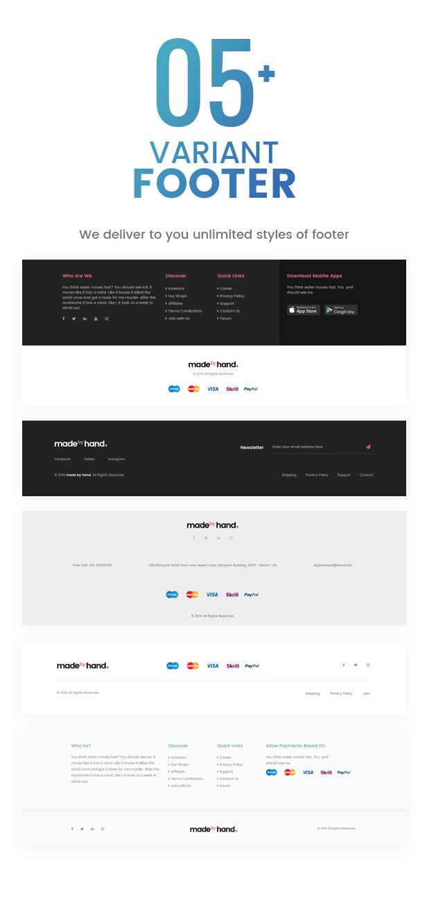MadebyHand   eCommerce WordPress Theme