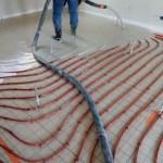 Chape plancher chauffant eau C3-E2-1