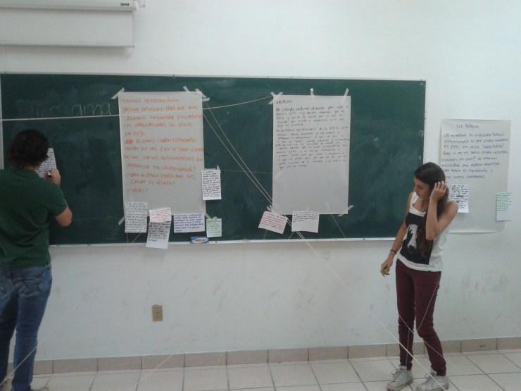 red en el aula