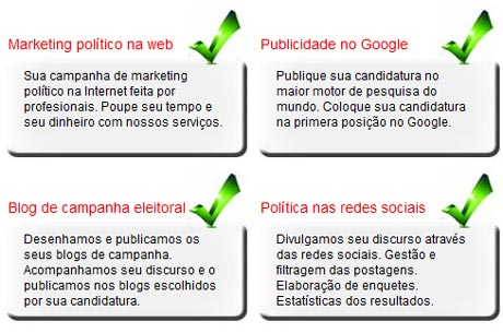 Marketing político na Internet