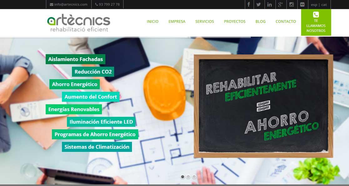 Artècnics - Rehabilitacion y reformas de edificios