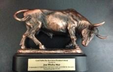 Award presented to Jane Muir