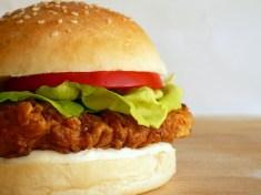 Crispy Chicken Sandwich JMU