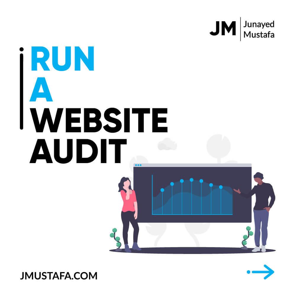 Run a website audit