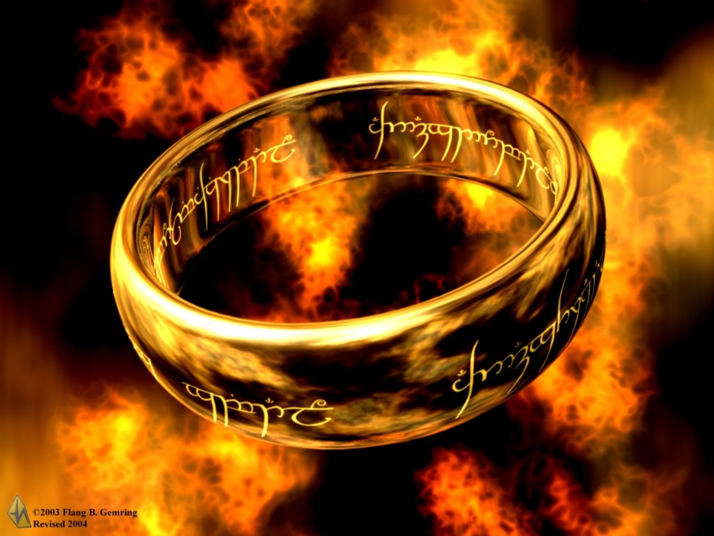One Ring to Rule Them All.....Except this Guy.