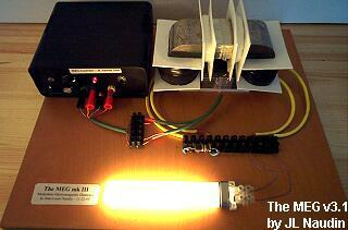 Foto del dispositivo messo in funzione