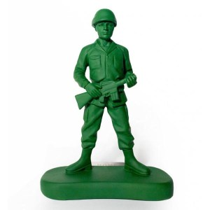 Just another toy soldier.