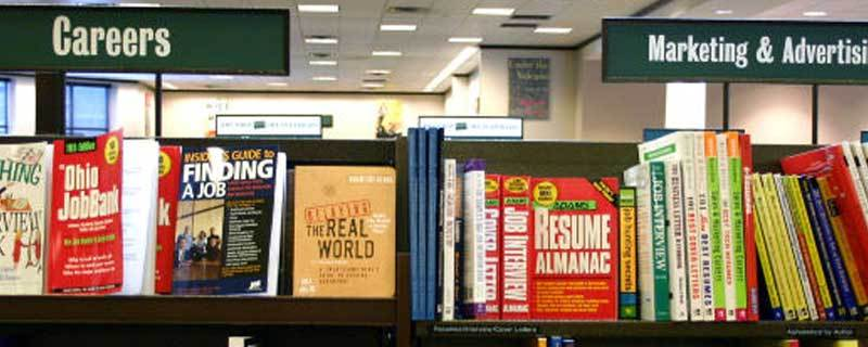 Career, Marketing and Advertising Books at a Bookstore