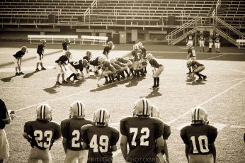 Rylan's first football game sept 09 181