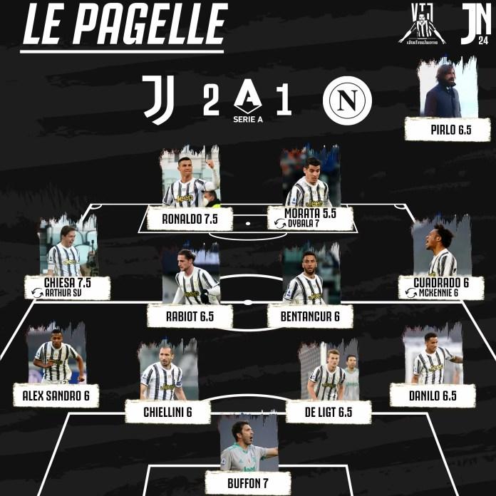 Juventus-Napoli-Esultanza