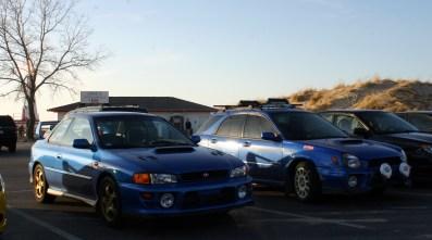 My car and my friend's wagon