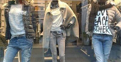 J.Nicholas negozio abbigliamento Via Mazzini Ferrara