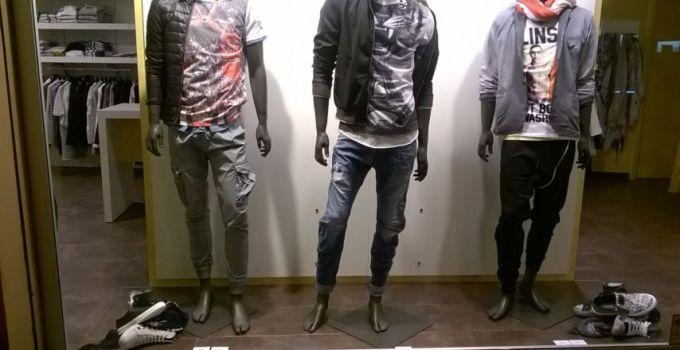 vetrine di abbigliamento uomo j.nicholas