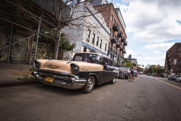 Vintage Chevy in Willliamsburg, New York