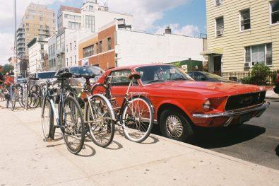 '67 Ford Mustang, Williamsburg, Brooklyn, New-York