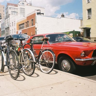 '67 Ford Mustang, Williamsburg, Brooklyn, New-York
