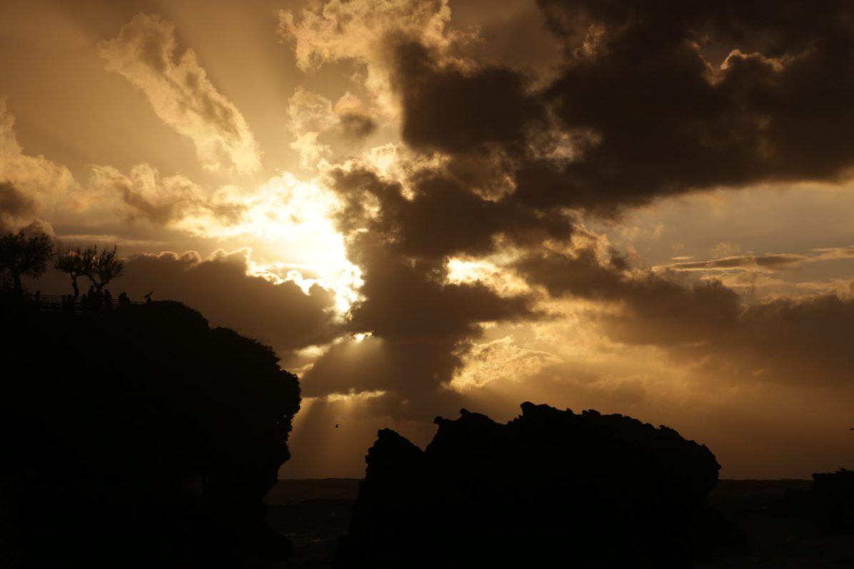 Explosion solaire, Biarritz