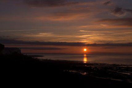 Sunset - Normandie