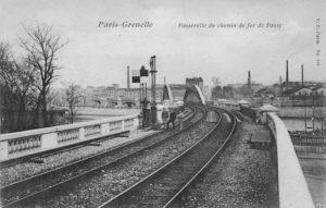 Pont Rouelle Petite Ceinture Raccordement Boulainvilliers