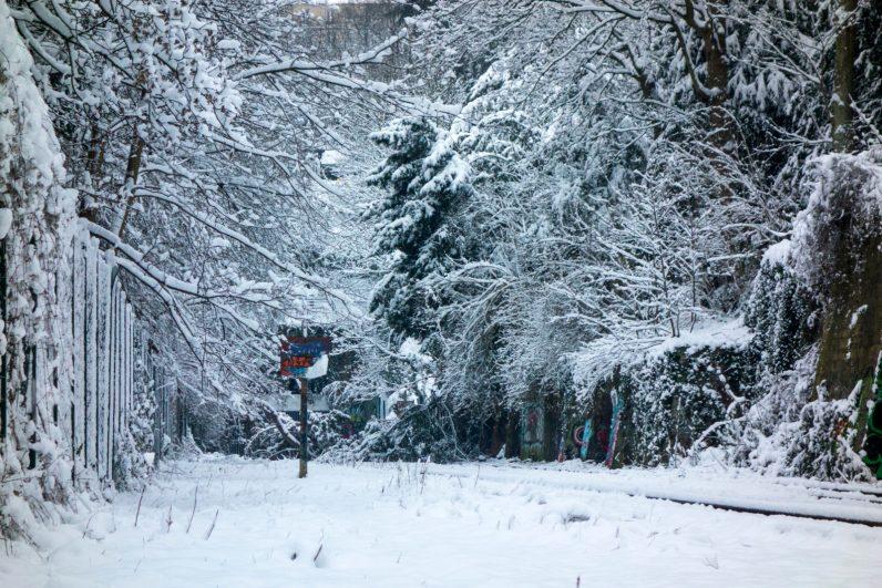 PC Buttes Chaumont neige _PS
