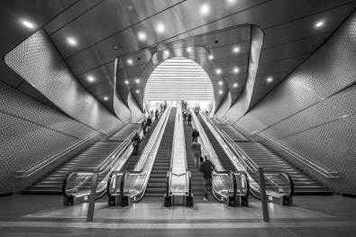 Perspective ascendante les Halles