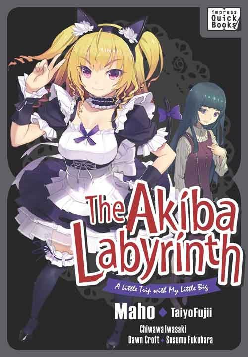 The Akiba Labyrinth: A Little Trip with My Little Big Light Novel
