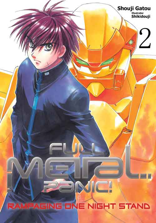 You can now Download Full Metal Panic volume 2 Light Novel