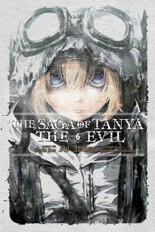 Youjo Senki Volume 6 cover