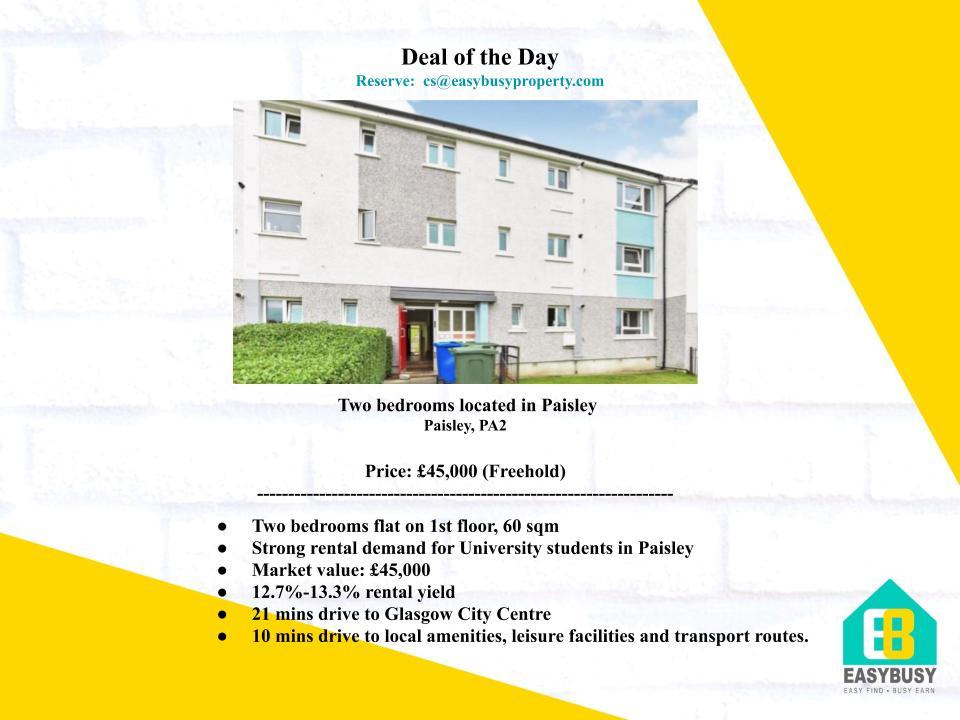 20200828-3 | Transaction Record of UK Property Investment | JiaYu