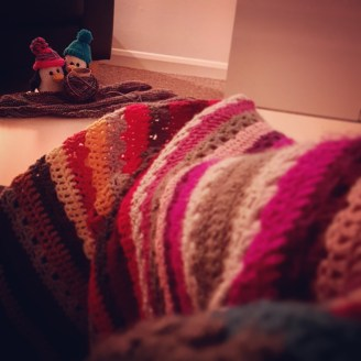 Cosying up Crocheting