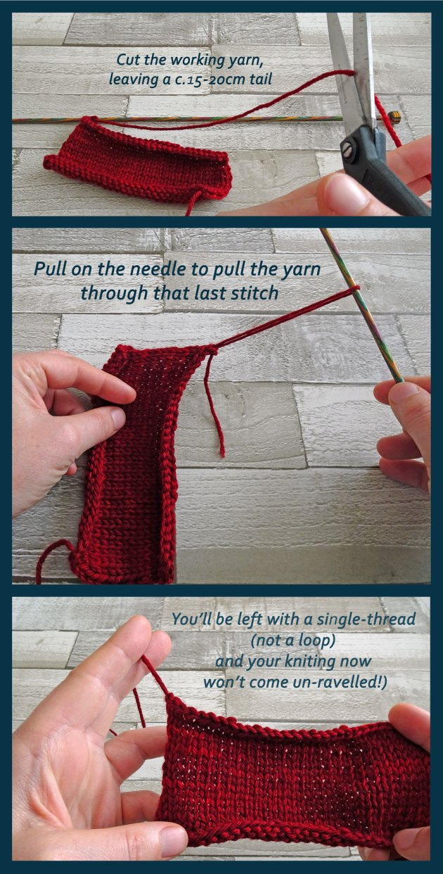 How to Knit - cast-off
