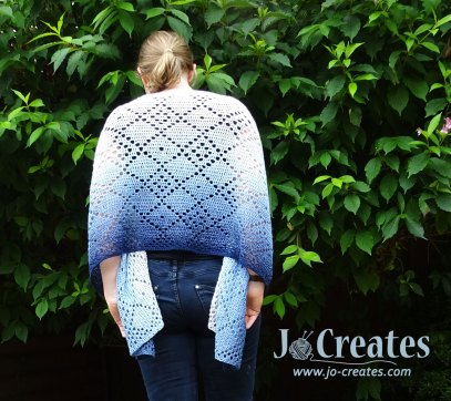 SCheepjes Whirl Shawl - Rough Diamonds