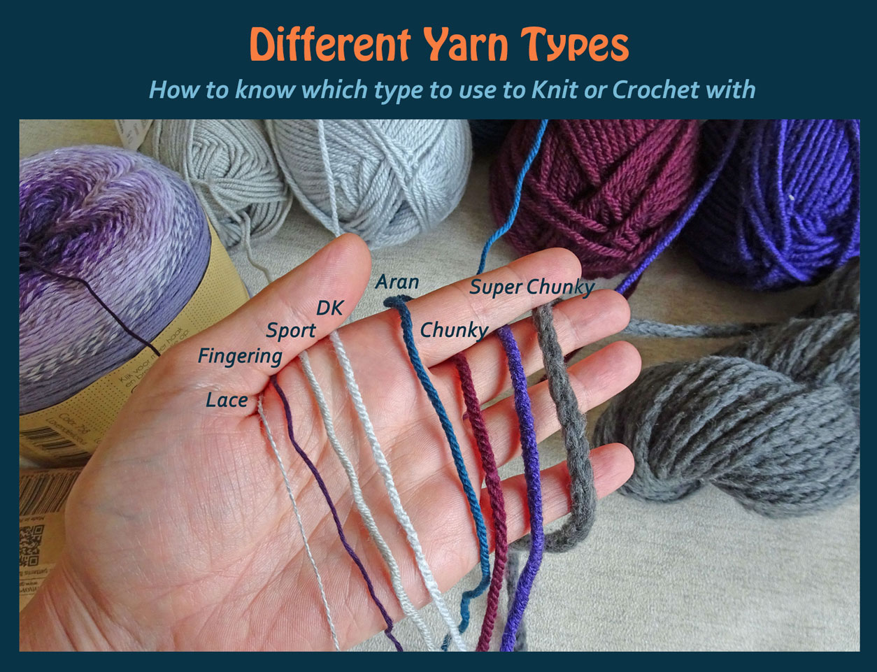 Which Yarn To Use For Knitting Or Crochet Jo Creates