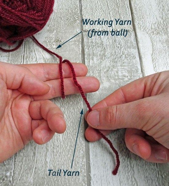 how to crochet a magic loop