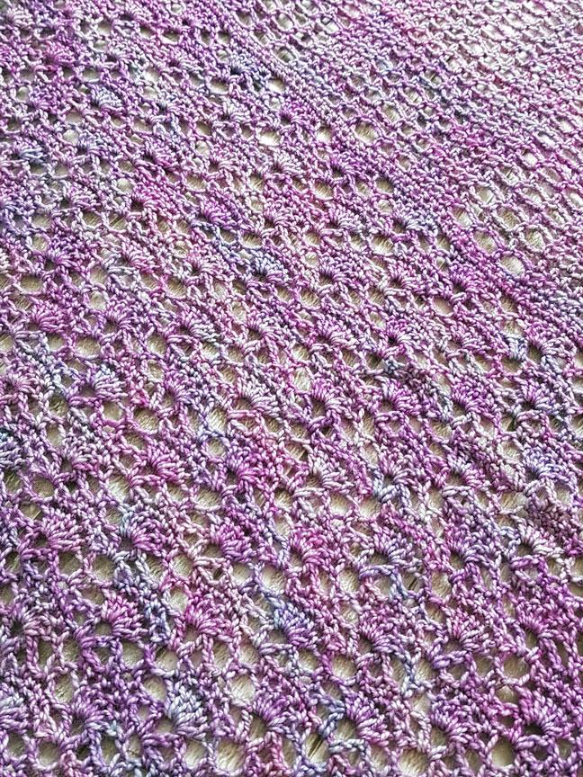 New Crochet Design The Shawl With No Name Jo Creates