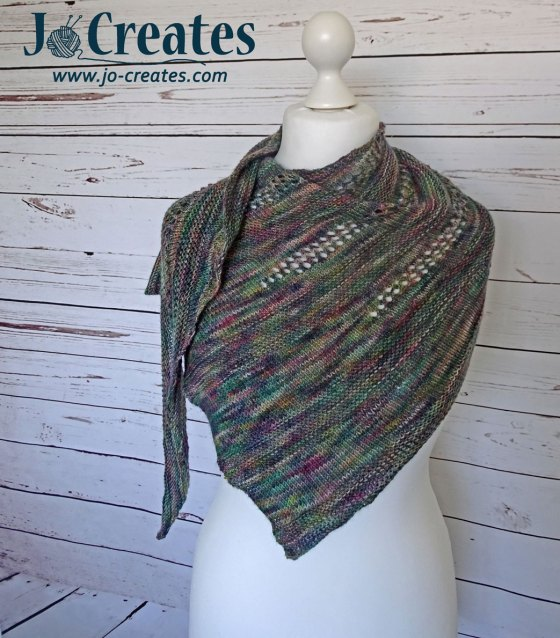 Rainfall Shawl knitting pattern