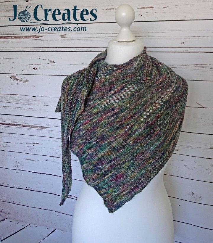 Rainfall Shawl knitting pattern