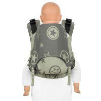 Outer Space - reed green - Fidella Fusion 2.0 toddler csatos hordozó