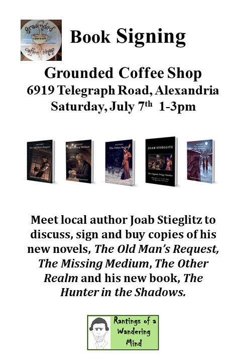 Grounded Coffee Shop Signing Flyer 20180707