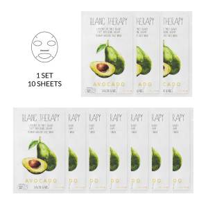 Ballon Blanc Therapy Avocado Sheet Mask 10 Pack