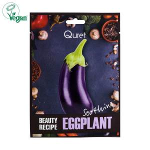 Quret Beauty Recipe Eggplant Sheet Mask