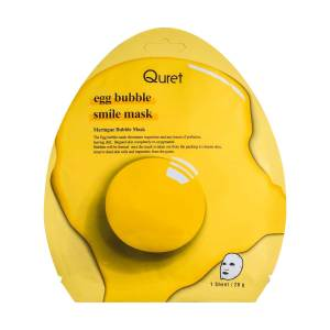Quret Egg Bubble Smile Mask