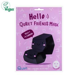 Hello :) Quret Friends Charcoal Mask