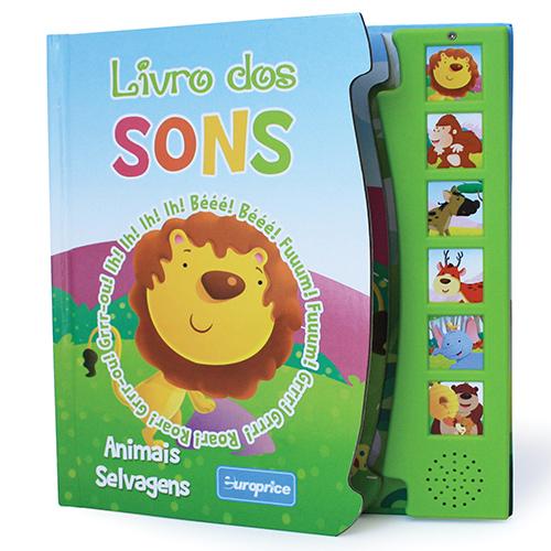 """Imagem da Coleção """"Livro dos Sons"""" - Animais Selvagens"""
