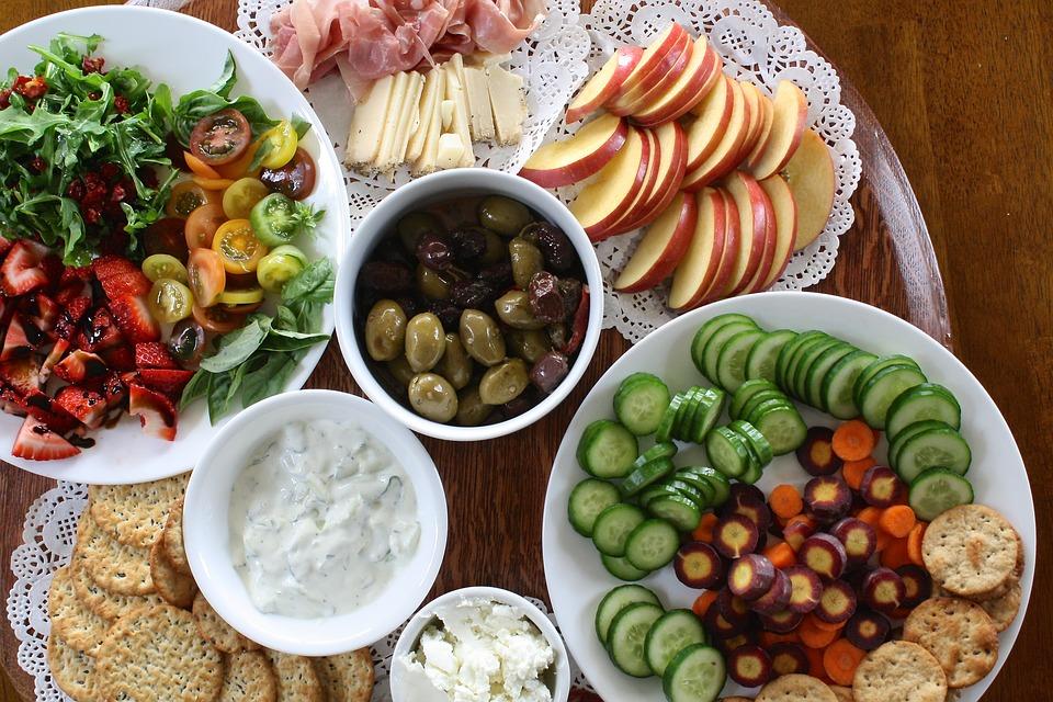 manger coloré pour les antioxydants
