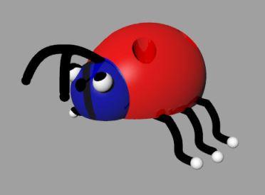 CAD Ladybug Toy by Joana Miranda