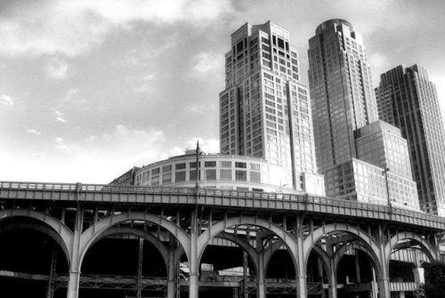 Photo of NY skyline taken from Riverside Park by Joana Miranda